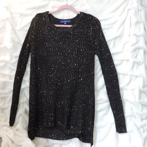 Apt. 9 Tiny Sequin Sweater Lining Formal Work